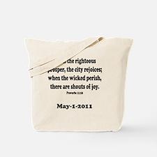 osama_proverb 11 Tote Bag