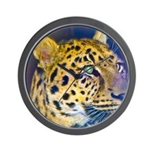 leopard BIG Wall Clock
