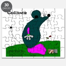 Gulliver The Rat In Anthracite And PinQ Puzzle