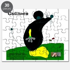 Gulliver The Rat In Black And Banana Puzzle