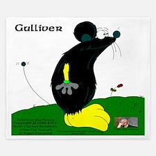 Gulliver The Rat In Black And Banana King Duvet