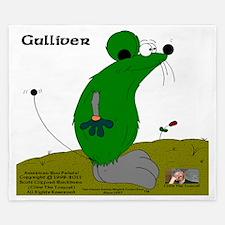 Gulliver The Rat In Celtic Green And St King Duvet