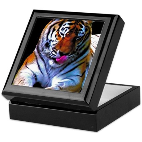 tiger 1 (blackback) BIG Keepsake Box