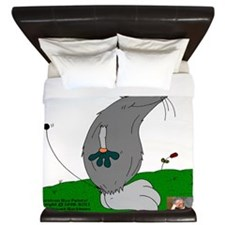 Gulliver The Rat In Stone And Smoke King Duvet