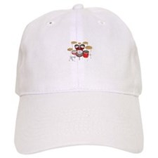 Drum Kit: Red Finish Baseball Baseball Cap