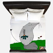 Gulliver The Rat In Smoke And Stone King Duvet