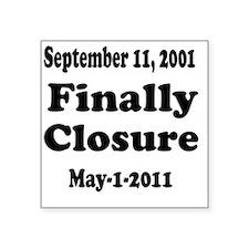 """Osama_closure Square Sticker 3"""" x 3"""""""