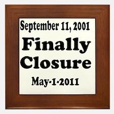 Osama_closure Framed Tile