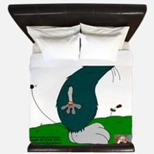 Gulliver The Rat In Anthracite And Smok King Duvet