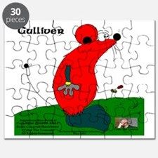 Gulliver The Rat In Red And Anthracite Puzzle