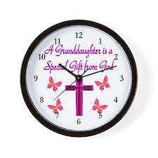 BEST GRANDDAUGHTER Wall Clock