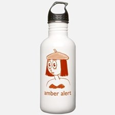 Amber-Obverse-Large Water Bottle