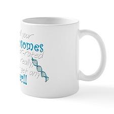 Ch18 Having all your chromosomes white Mug