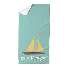 Bon Voyage! Beach Towel
