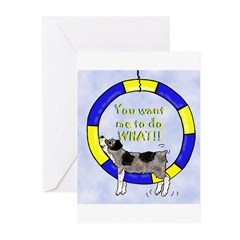 Silly Aussie Agility Greeting Cards (Pk of 10)