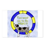 Silly Aussie Agility Postcards (Package of 8)