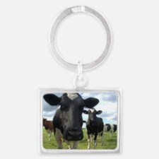 Here's Looking At You Babe! Landscape Keychain