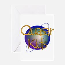 Quasar Kids Logo 2 Greeting Cards