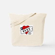 Rudy tattoo Tote Bag