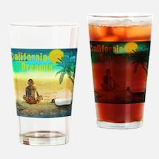 California Dreamin Drinking Glass