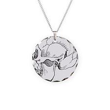 stone age skull Necklace