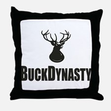 Buck Dynasty Throw Pillow