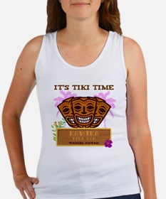 Its Tiki Time Women's Tank Top