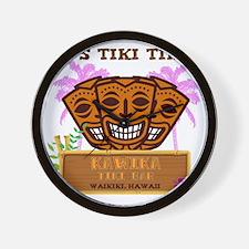 Its Tiki Time Wall Clock
