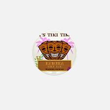 Its Tiki Time Mini Button