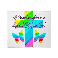 LOVE GRANDMA Throw Blanket