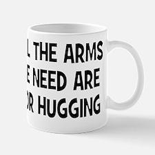 Arms for hugging W Mug