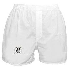 Drum Kit: Black Finish Boxer Shorts