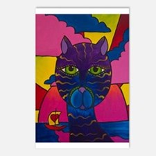 Hip Cat Postcards (Package of 8)