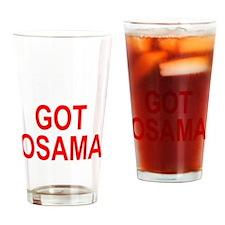 Obama Osama Drinking Glass