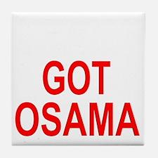 Obama Osama Tile Coaster