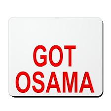 Obama Osama Mousepad