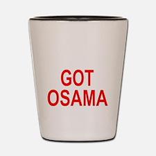 Obama Osama Shot Glass