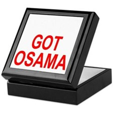 Obama Osama Keepsake Box