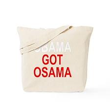 Obama Osama Tote Bag