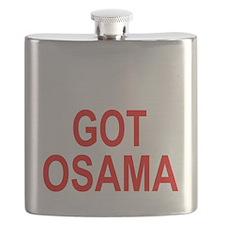 Obama Osama Flask