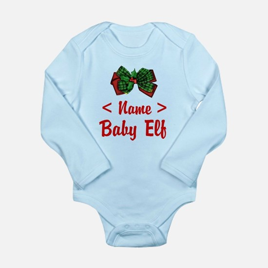 Personalized Baby Elf Baby Outfits