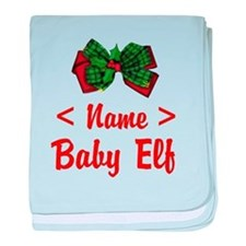 Personalized Baby Elf baby blanket