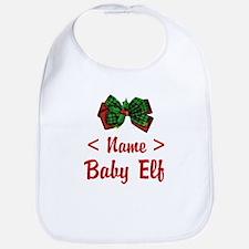 Personalized Baby Elf Bib