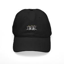Large Drum Kit: Black Baseball Hat