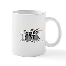 Large Drum Kit: Black Mugs