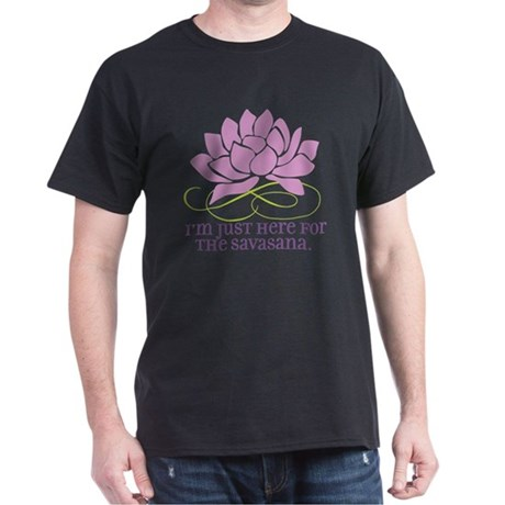 yoga_savasana Dark T-Shirt