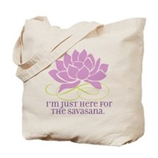 yoga_savasana Tote Bag