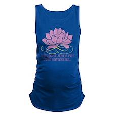 yoga_savasana Maternity Tank Top