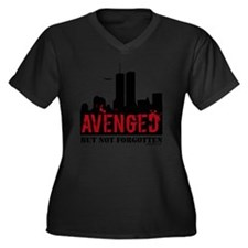 911avenged Women's Plus Size Dark V-Neck T-Shirt