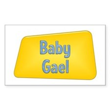 Baby Gael Rectangle Decal